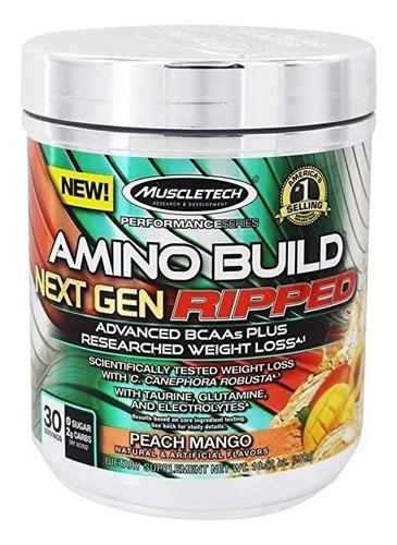 Amino Build Next Gen  Ripped De - Unidad a $110000