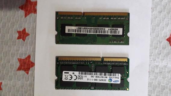2 Pentes De Memória Ram Ddr3 Notebook 1600mhz 4gb E 2gb Usad