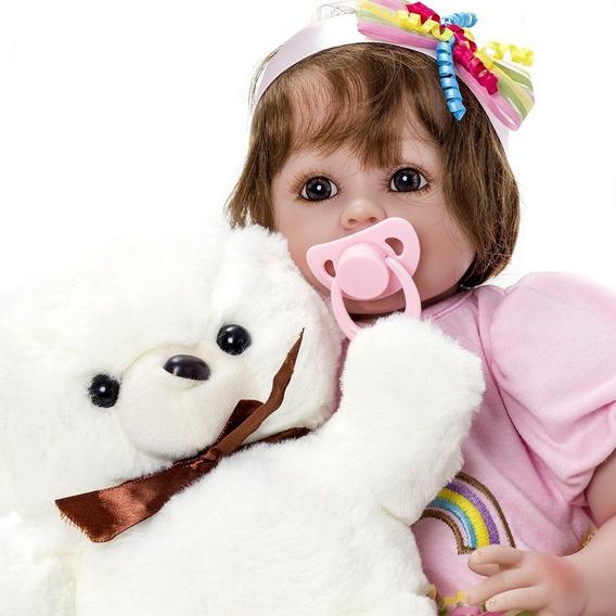 Boneca Bebê Reborn Menina Linda Kaydora Luana Original