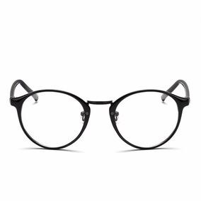 bdfe729a3 Oculos Redondo Masculino Acetato Marrom - Óculos Preto no Mercado ...
