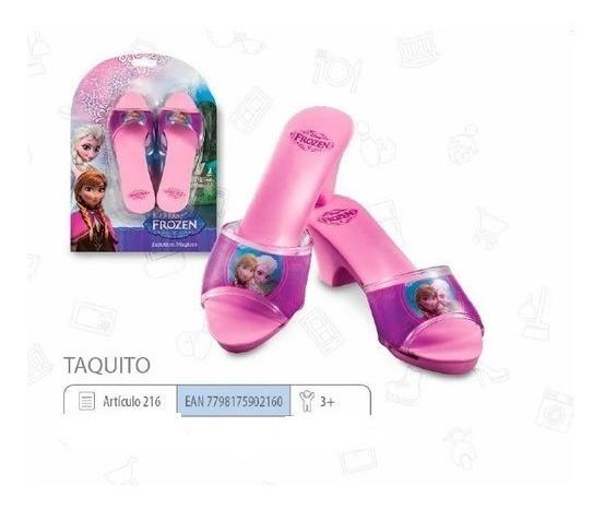 Zapato Taquito De Princesa Frozen Talle Unico Mini Play