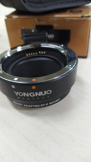 Adaptador De Lente Ef-e Mount Para Cam Sony Com Lente Canon