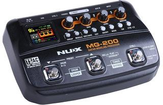 Pedalera Para Guitarra Nux Mg200 Multi-efectos