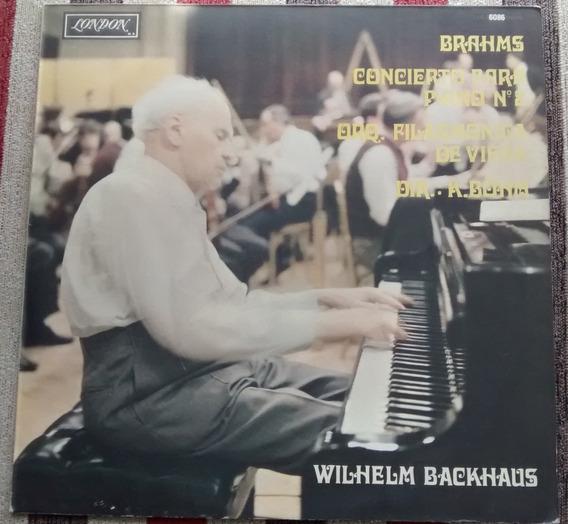 Disco De Vinilo - Brahms -concierto Para Piano N 2 -k. Bohm