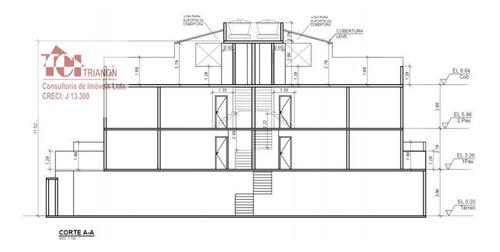 Imagem 1 de 6 de Cobertura Com 2 Dormitórios À Venda, 80 M² Por R$ 291.000 - Vila Tibiriçá - Santo André/sp - Co0929