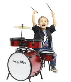 Bateria Infantil Rmv Rock Kids 5pçs Vermelha | Original