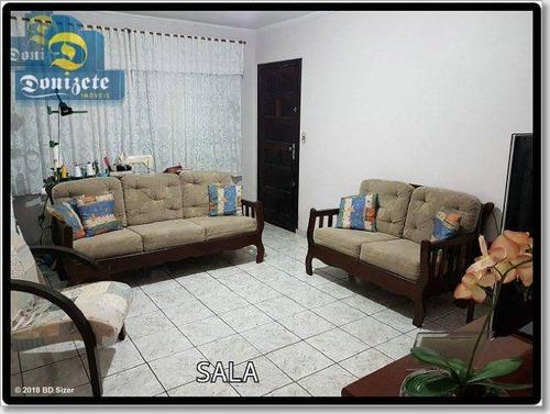 Sobrado À Venda, 142 M² Por R$ 378.000,00 - Jardim Teles De Menezes - Santo André/sp - So1593
