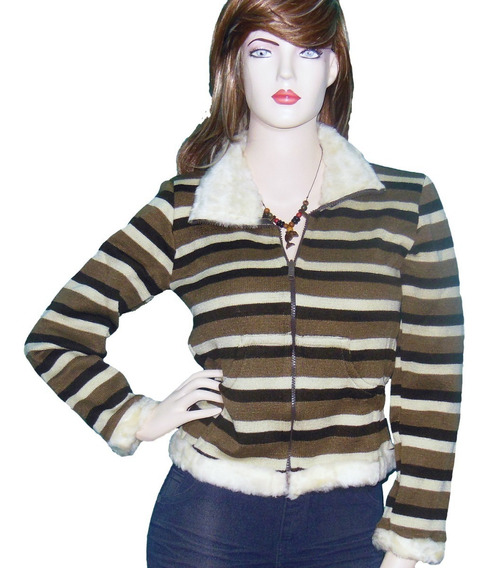 Suéter Fibra Polar Sweaters Manga Larga Mujer Hombre