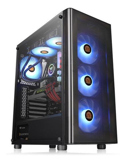 Gabinete Gamer Thermaltake V200 Tg Rgb Vidrio Templado