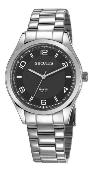 Relógio Masculino Analógico Seculus 28493gpsvda2