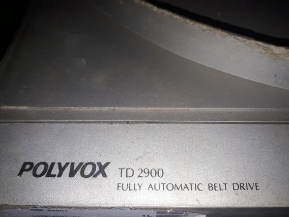 Knobs Toca Discos Polivox Td2900(5 Peças)