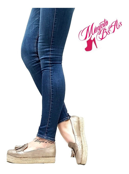 Zapatos Mujer Charritos Chatitas Con Plataforma Mugato-bsas®