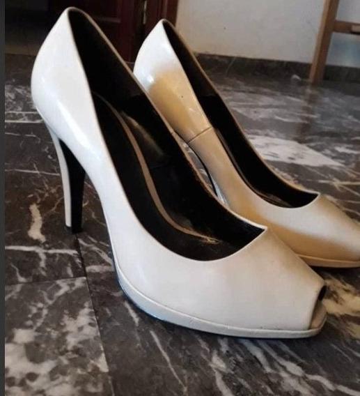 Zapatos Stilettos Zara - Boca De Pez - Talle 40