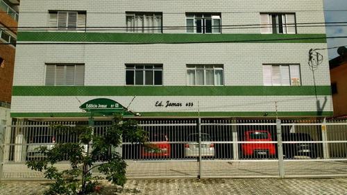 Apartamento Com 1 Dormitório À Venda, 50 M² Por R$ 135.000 - Canto Do Forte - Praia Grande/sp - Ap0101
