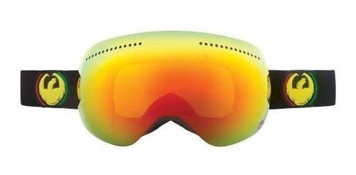 Antiparras Snowboard Ski // Dragon Apx Rasta Red Ion