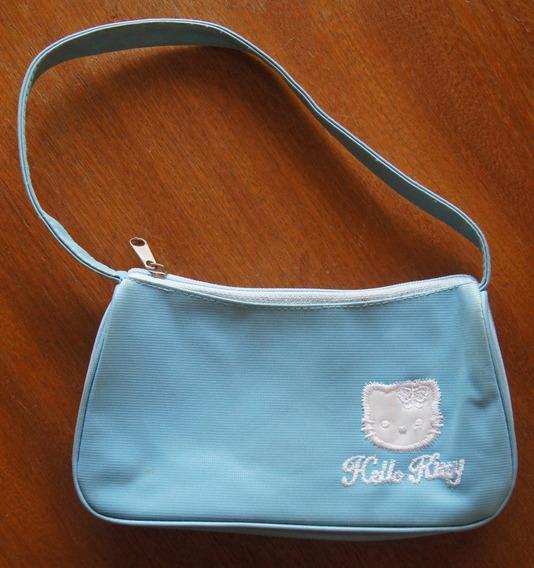 Bolsa Pequena Azul Claro Hello Kitty