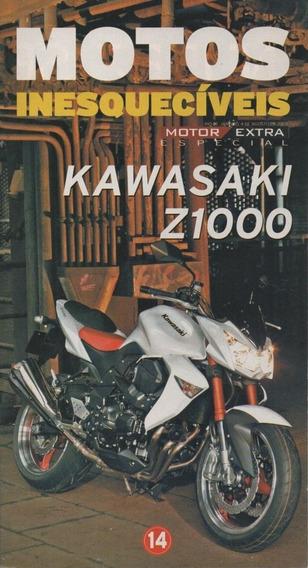 Motos Inesquecíveis 14 - Kawasaki Z1000 - Revista