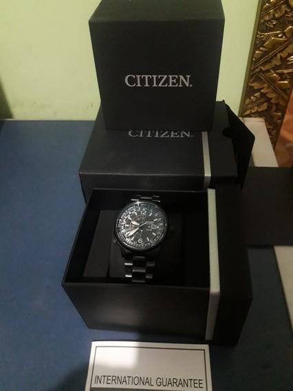 Relógio Citizen Nighthawk Black Impecável Promoção