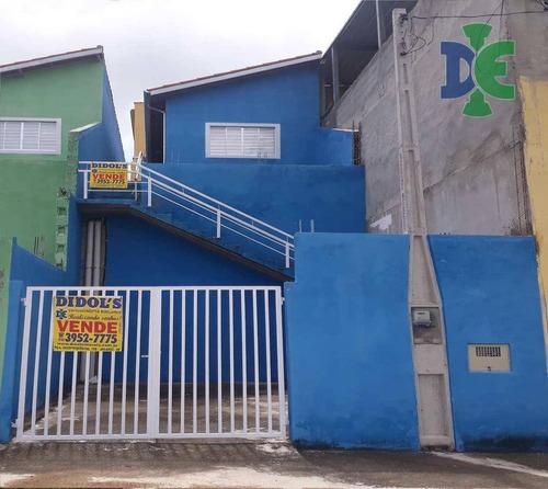 Casa Com 1 Dormitório À Venda, 43 M² Por R$ 130.000 - Jardim Alvorada - Jacareí/sp - Ca0153