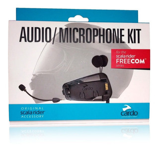 Audio Kit Y Microfono Intercom Cardo Scala Rider Freecom