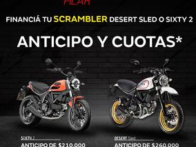 Ducati Scrambler Desert Sled 0km Consulte Anticipo Y Cuotas