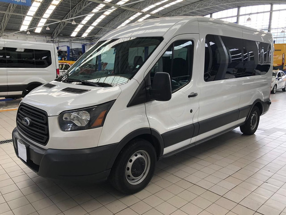 Ford Transit 2017 3.7 Gasolina Bus 15 Pasajeros At