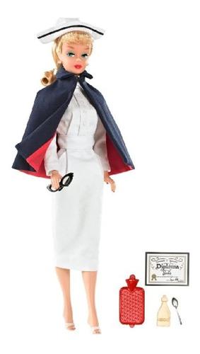 Imagen 1 de 3 de Muñecas Y Bebotes, Barbie Enfermera