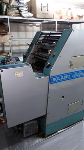 Imagem 1 de 5 de Off-set Roland 00