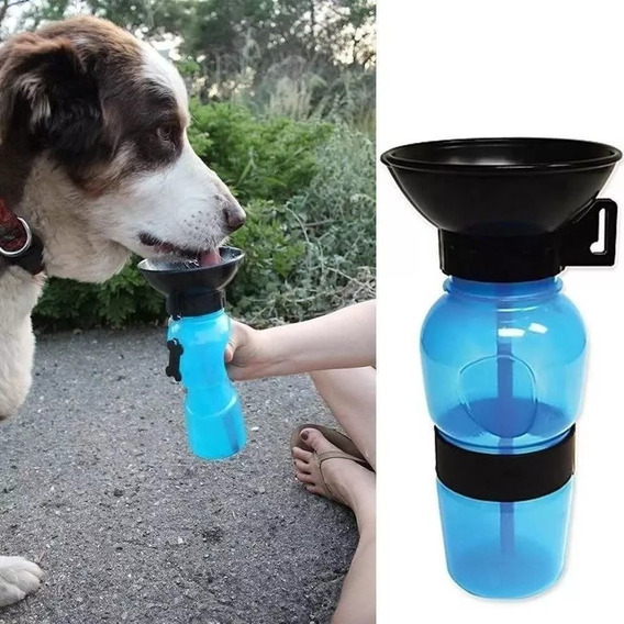 Garrafa Aqua Dog Portátil Viagem Pet Cães E Gatos