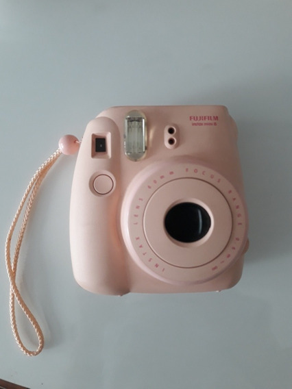 Câmera Instantânea Instax Mini 8 Rosa