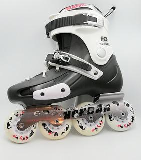 Patines En Linea Hondar Freeskate Slalom Talla 40 + Envio