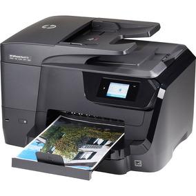 Impressora Hp 8710 Com Bulk Ink Unijet Tinta Corante