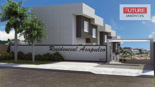 Imagem 1 de 5 de Casa Com 2 Dormitórios À Venda, 63 M² Por R$ 240.000,00 - Jardim Santo Antônio - Atibaia/sp - Ca0115