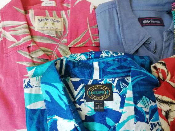 Oferta Cinco Camisas Manga Corta Varias Marcas Talla L Ca2