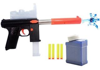 2 Pistolas Hidrogel Gotcha Niños + 6,000 Municiones D Regalo