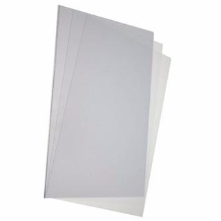 Plancha Acetato Pvc Transparente Lamina 35x50 0.2 Mm X 10