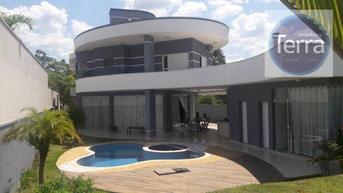 Casa Com 4 Dormitórios À Venda -vintage - Granja Viana - Ca2118
