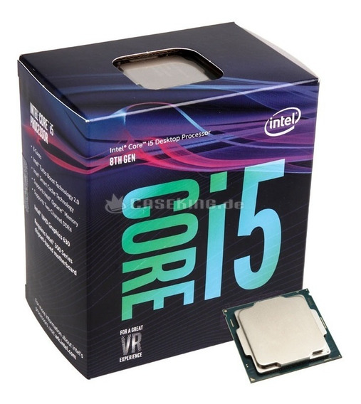 Processador Intel Core I5 8400 Coffee Lake Lga 1151 Bx806481