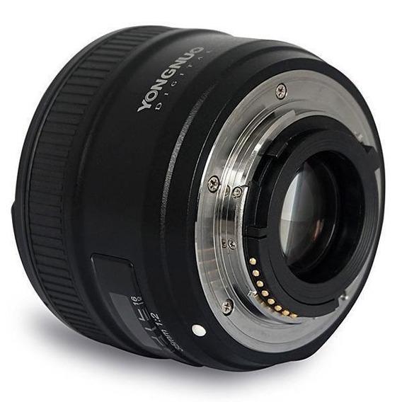 Lente Grande Angular Yongnuo Yn35mm F2n Para Câmeras Nikon