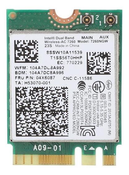 Para Intel 7260ac 7260ngw Placa De Rede Sem Fio De Banda Dup