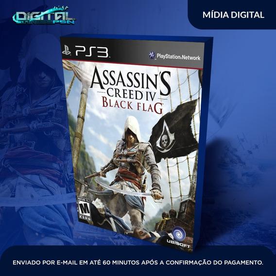Assassins Creed Iv Black Flag Ps3 Midia Digital Em 10 Min!