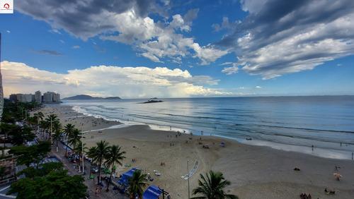 Apartamento Com 4 Dormitórios À Venda, 200 M² Por R$ 2.900.000,00 - Praia Das Pitangueiras - Guarujá/sp - Ap05717 - 69228875