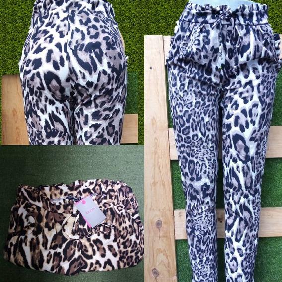 Pantalon Para Dama Tipo Rufless Con Lazo A La Moda