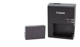 Kit Bateria Y Cargador Lc E17 Para Canon T7i T6i Sl2