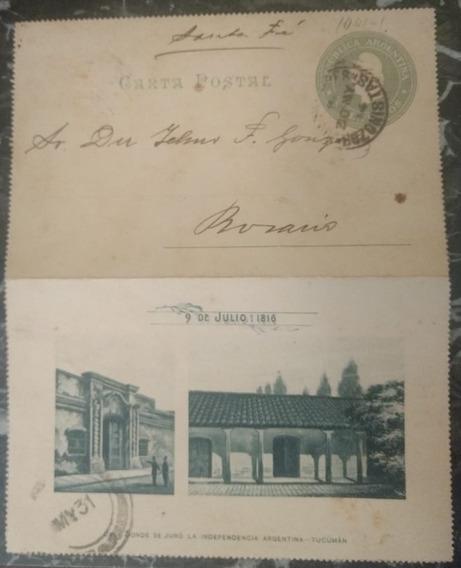 Carta Postal Argentina