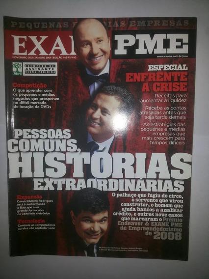 Revista Exame Pme 16 Novembro 2008 Pessoa Comum Histórias Ex