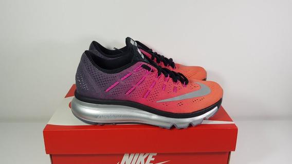 Tênis Nike Am 2016 Feminino Lilás/laranja Original