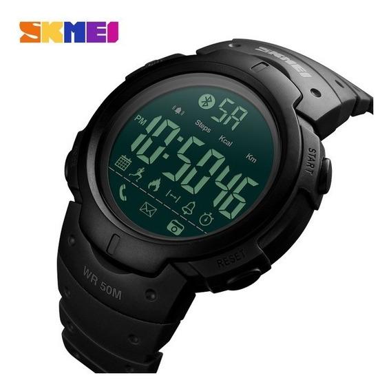 Relógio Esportivo Inteligente Bluetooth Skmei 1301