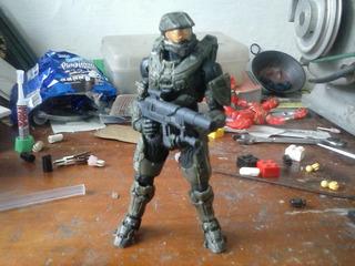 Spartan Chief Halo Articulado Completo