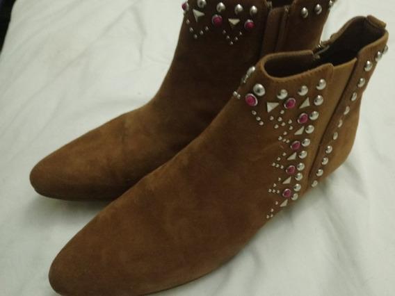 Zapatos - Botas Texana Cortas Talle 40
